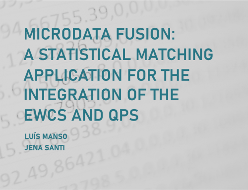 Microdata fusion: a statistical matching application for the integration of the EWCS and QPS